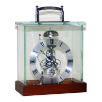 Deluxe Skeleton Desk Clock